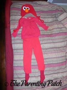 Toddler Elmo Halloween Costume