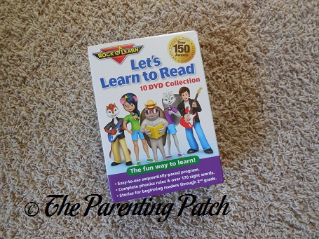 Rock 'N Learn Let's Learn to Read 10 DVD Collection
