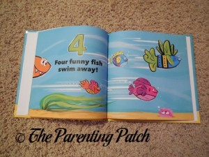 Inside Pages of Let's Count Fish!