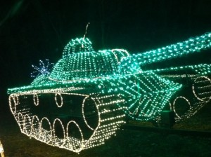 Christmas Light Tank