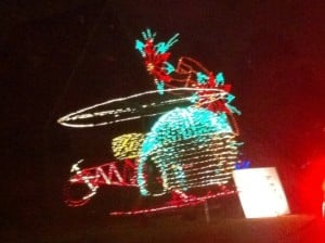 Christmas Light Helicopter
