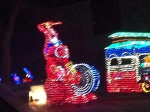 Christmas Light Energizer Bunny