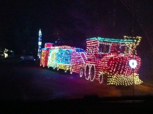 Christmas Light Train 3