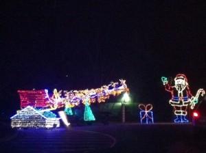 Christmas Light Santas