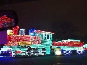 Christmas Light Train 1