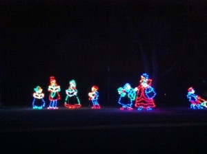 Christmas Light Carolers