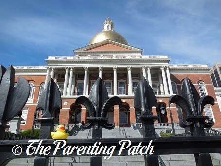 The Duck and the Massachusetts State House
