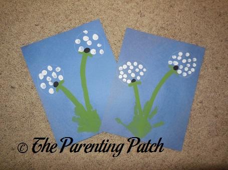 Dandelion Handprint-Fingerprint Craft