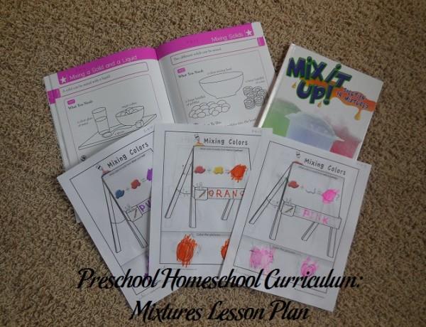 Mixtures Preschool Activities
