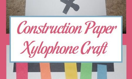 Construction Paper Xylophone Craft