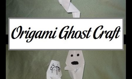 Origami Ghost Craft