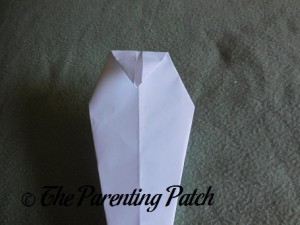 Origami Ghost Step 8