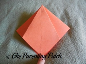 Origami Pumpkin Step 9