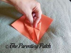 Origami Pumpkin Step 10