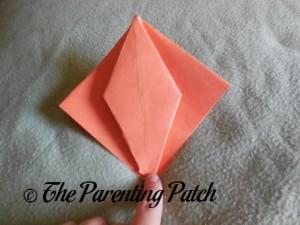 Origami Pumpkin Step 11