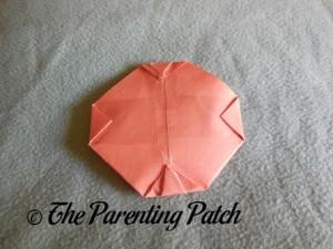 Origami Pumpkin Step 13