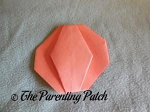 Origami Pumpkin Step 14