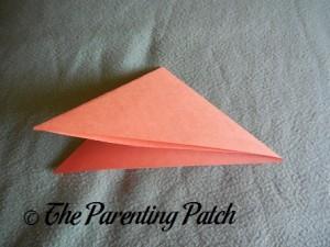 Origami Pumpkin Step 2