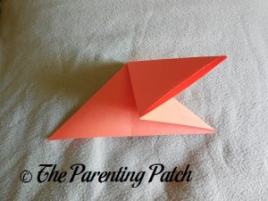 Origami Pumpkin Step 3