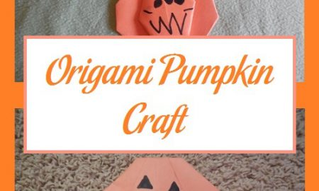 Origami Pumpkin Craft
