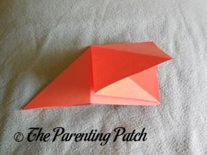 Origami Pumpkin Step 6