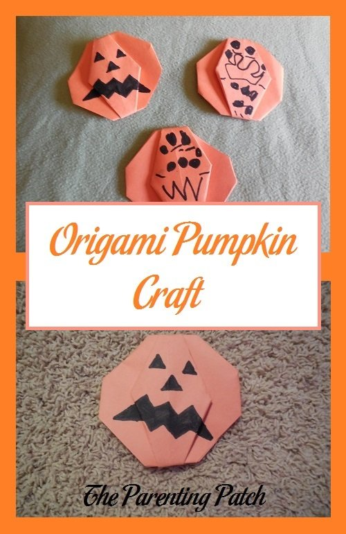Origami Pumpkin Craft