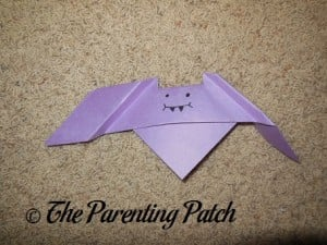 Origami Bat Step 7