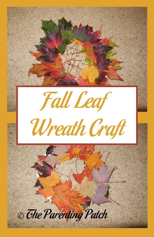 Fall Leaf Wreath Craft