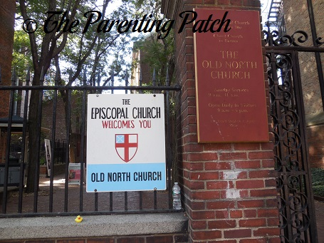The Duck and the Old North Church Episcopal Church
