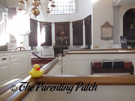The Duck and the Old North Church