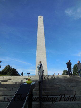 The Duck and the Bunker Hill Monument