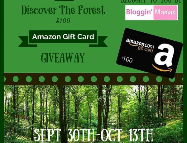Discover the Forest $100 Amazon Gift Card Giveaway