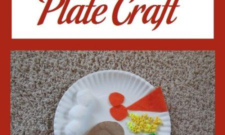 Thanksgiving Plate Craft