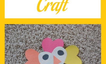 Heart Turkey Craft