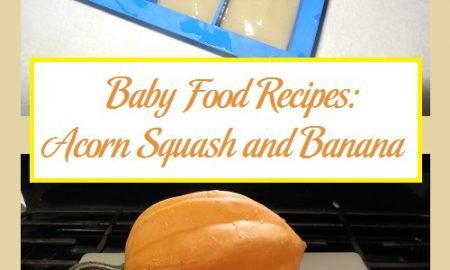 Baby Food Recipes: Acorn Squash and Banana