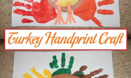 Turkey Handprint Craft