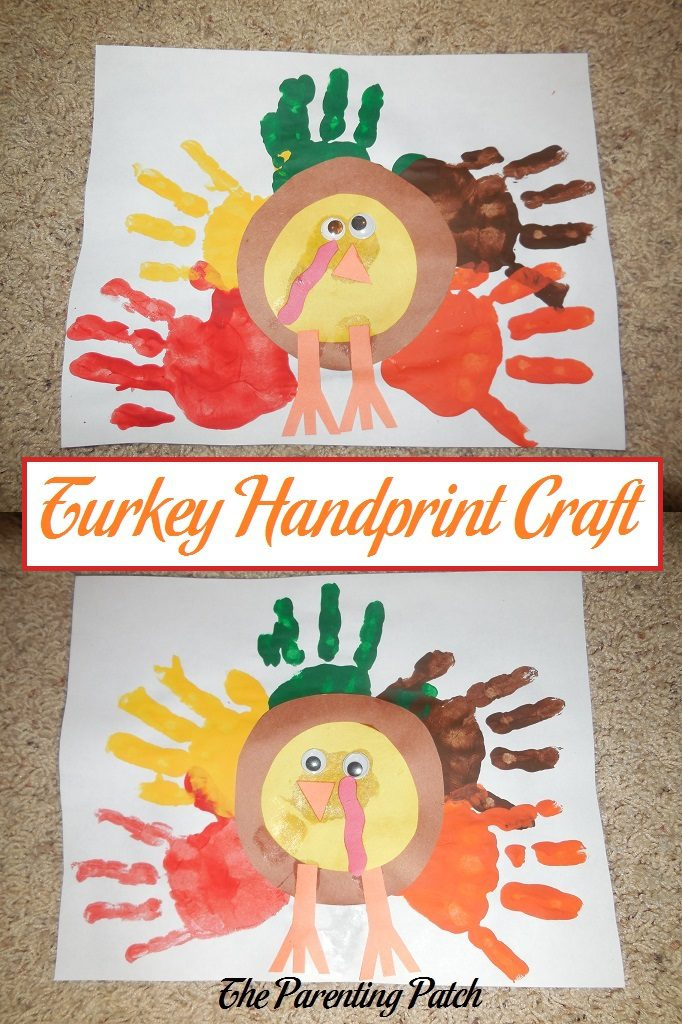 Turkey Handprint Craft