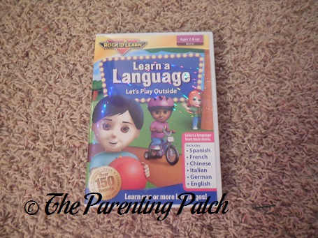 Rock 'N Learn Learn a Language: Let's Play Outside DVD