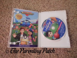 Inside the Rock 'N Learn Learn a Language: Let's Play Outside DVD