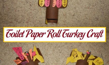 Toilet Paper Roll Turkey Craft