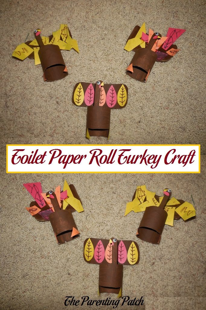 Toilet paper roll turkey craft parenting patch for Toilet paper roll crafts thanksgiving