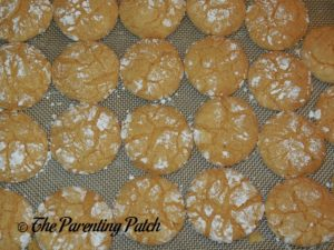 Spiced Orange Crinkles Ready to Eat