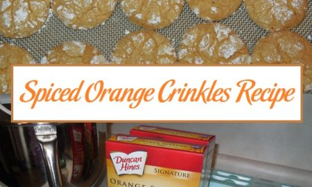 Spiced Orange Crinkles Recipe