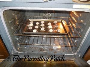 Baking the Mint Chocolate Fudge Cake Crinkles