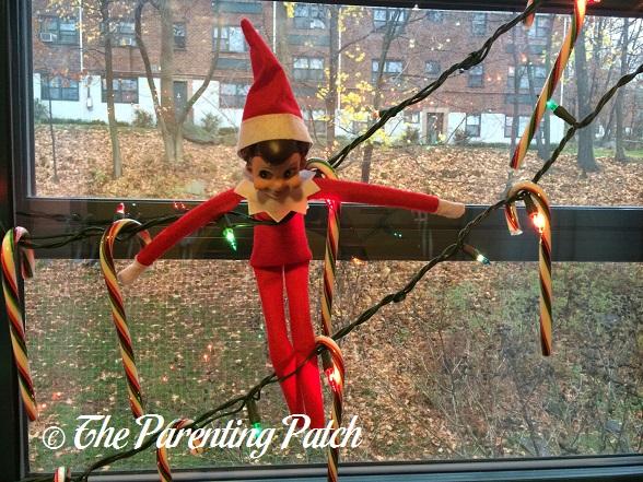 The Elf and the Christmas Lights