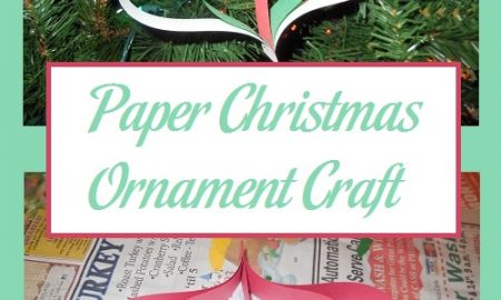 Paper Christmas Ornament Craft