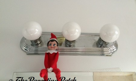 The Elf and the Bathroom Lights