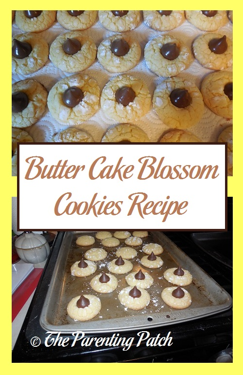 Butter Cake Blossom Cookies Recipe