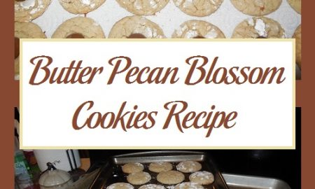 Butter Pecan Blossom Cookies Recipe