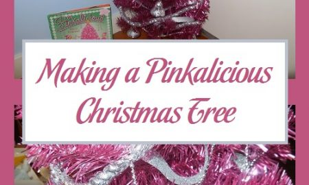 Making a Pinkalicious Christmas Tree